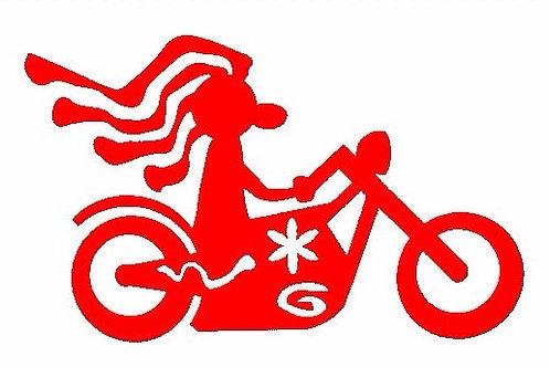 Hippy motociclista