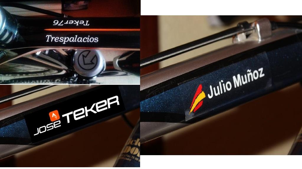 Vinils diseño bicicletas deporte Teker 7