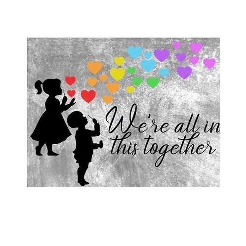 We are all in this together con niños
