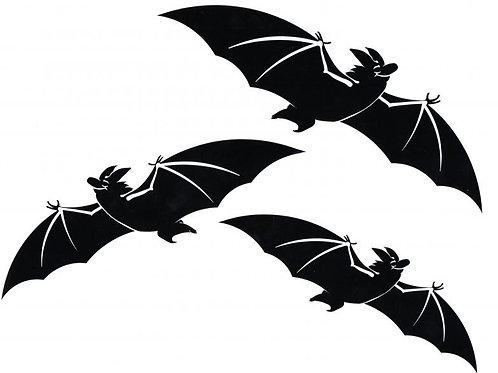 3 Murciélagos volando