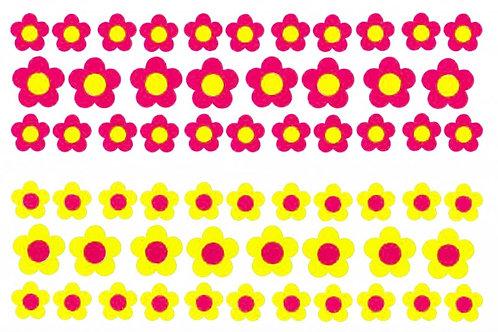 50 pequeñas flores Fábula