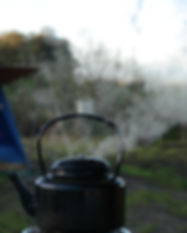 Kettle, Camping