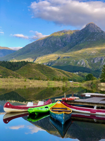 Canoes with a view