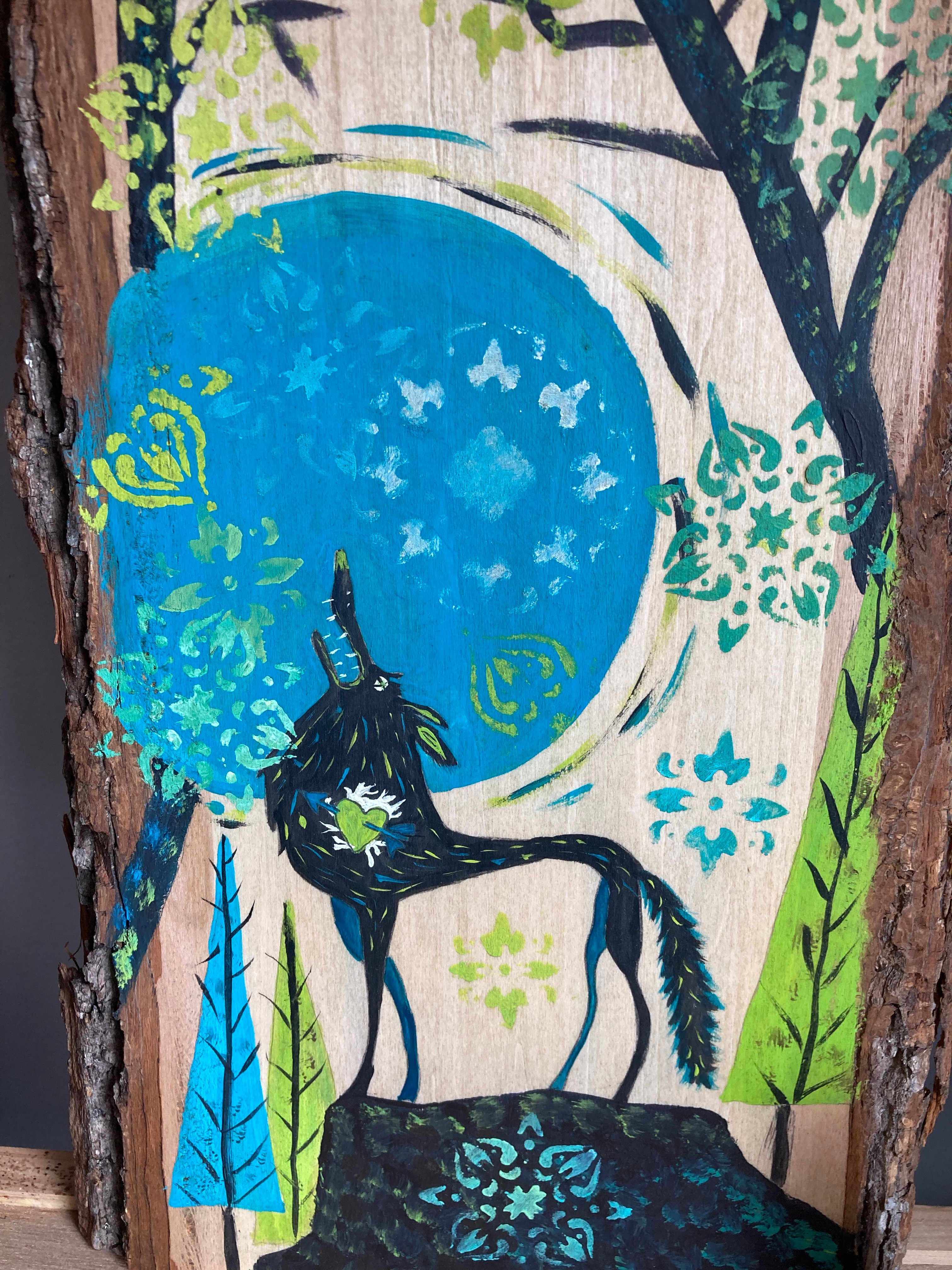 Woodland Creatures Wolf  9/25 @ 11:24am