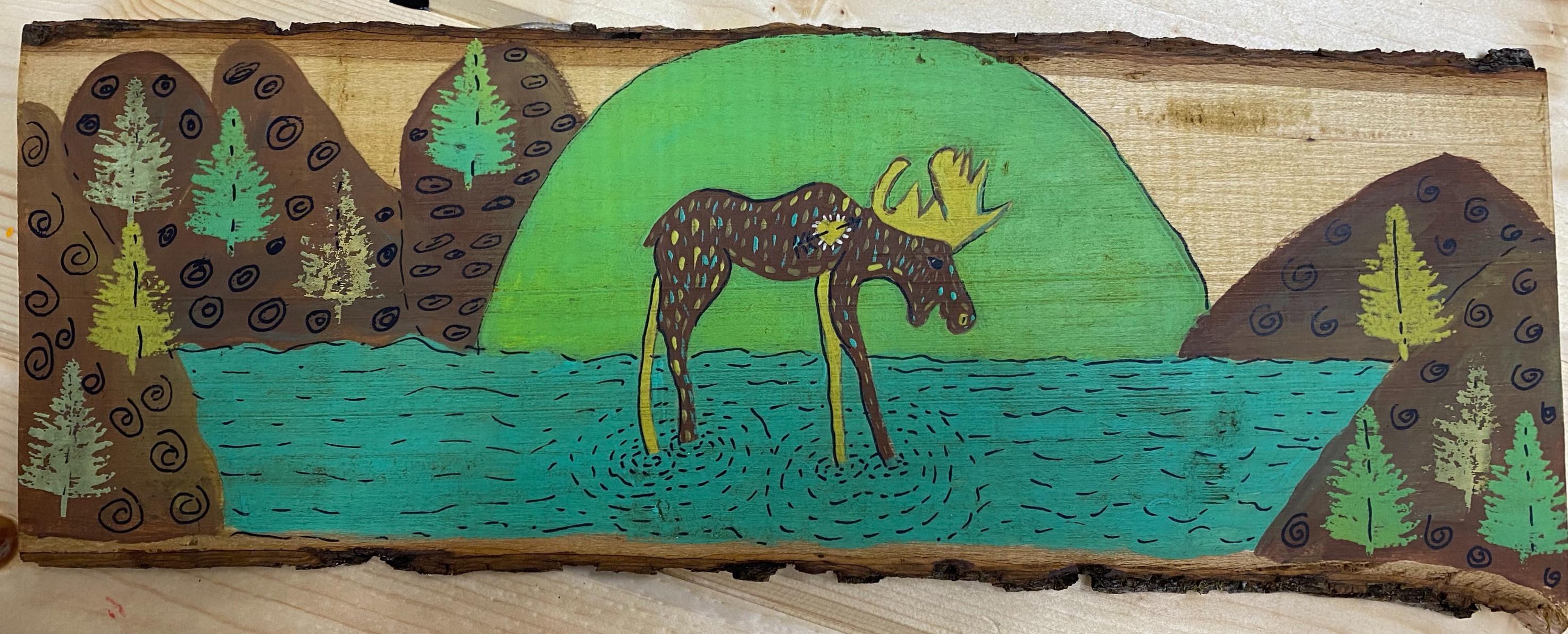 Woodland Creatures Moose 10/02 @ 11:22am