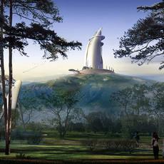 黃山紀念塔