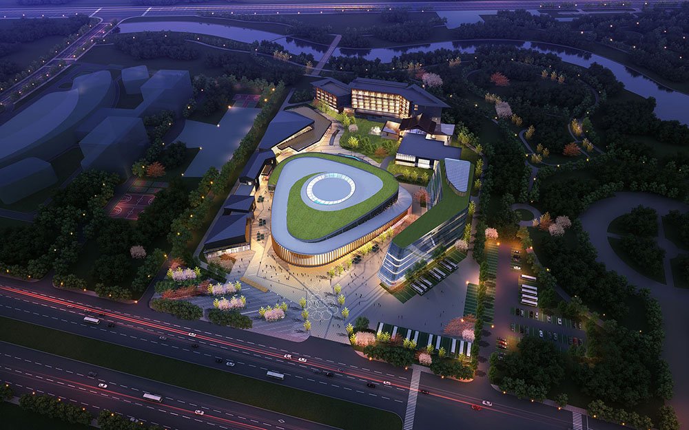 Fu Zhou Logistic Centre-Render-02