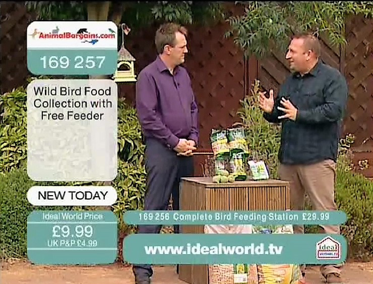 Co-hosting Animal Bargains on Ideal World TV