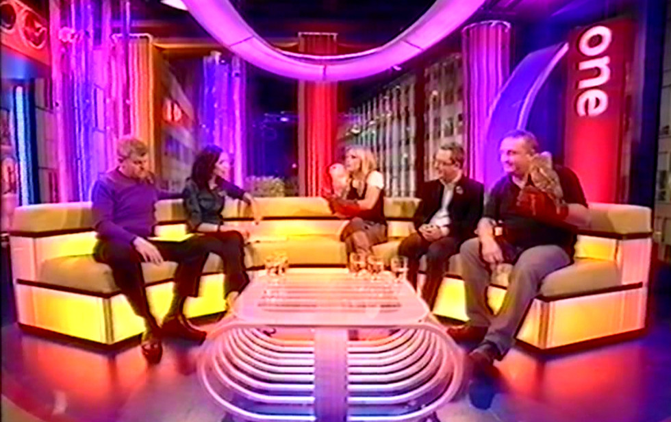Appearing on The ONE Show 2007
