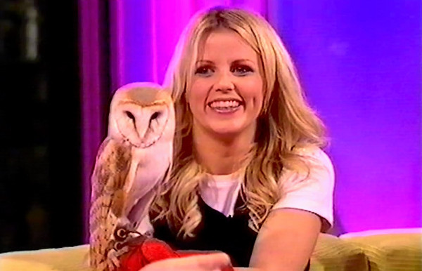 Ellie Harrison with Misty