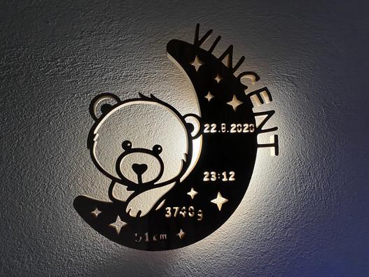 Das besondere Nachtlicht für Kinder!