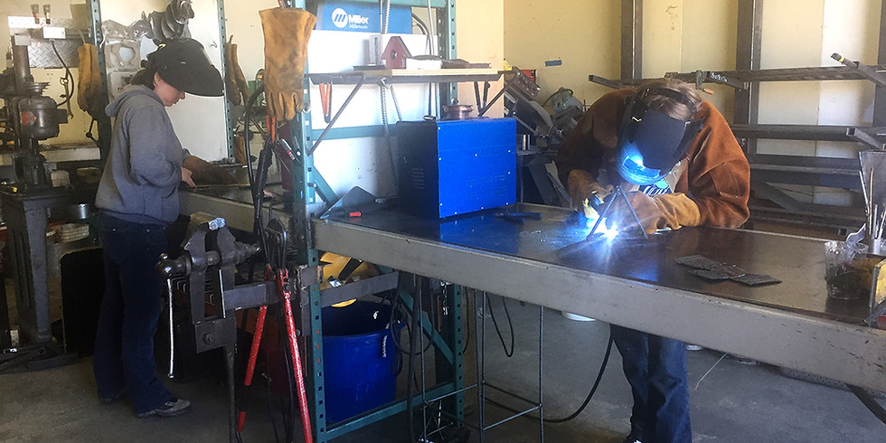 MIG Welding Intensive 4/26/20 10 am to 3 pm