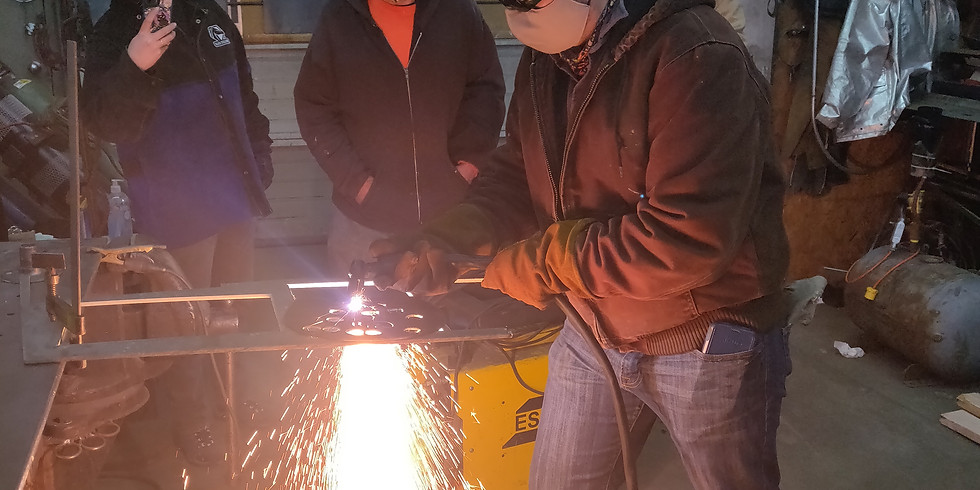 Four hours of private welding instruction.