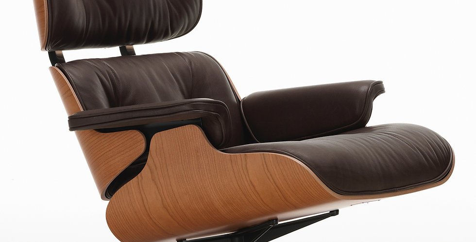Lounge Chair & Ottoman - American Cherry