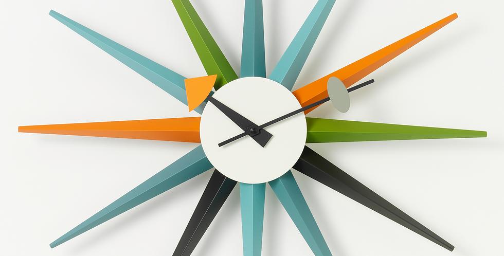 Sunburst Clock
