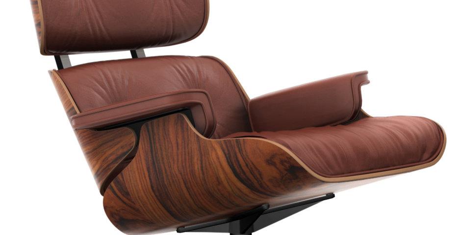 Lounge Chair & Ottoman - Santos Palisander