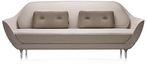 Fritz Hansen Favn Sofa in grey fabric