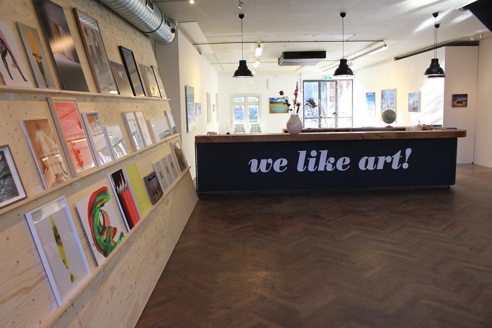 We Like Art POP UP SHOW t/m 1 februari 2018 Pazzanistraat 3, Westergasfabriek, Amsterdam