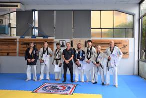 Esami di Dan Black Belt (Junior e Senior) presso la World Ju Jitsu  PMA Italia- Pisa 25 Luglio 2021