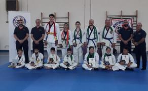 A Volterra e Pisa gli esami di Ju Jitsu della WJJPMA Italia