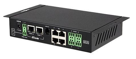 Clock Audio CDT100 Dante transporter   AudeoNet
