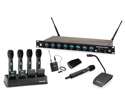 ClearOne WS800 digital wireless microphone system   AudeoNet