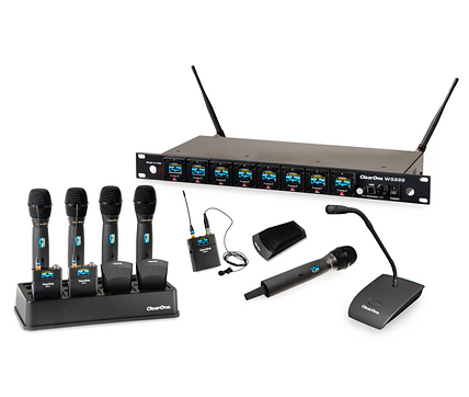 ClearOne WS800 digital wireless microphone system | AudeoNet