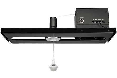Clock Audio CCRM 4000 motorized ceiling microphone | AudeoNet