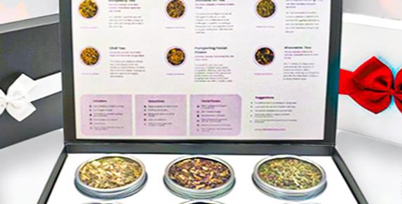 Herbal Immunity and Calming Gift Box
