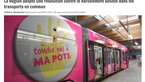 Lutte contre le harcèlement sexiste dans les transports en commun - La DH