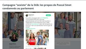 "Campagne ""sexiste"" de la Stib - BX1"