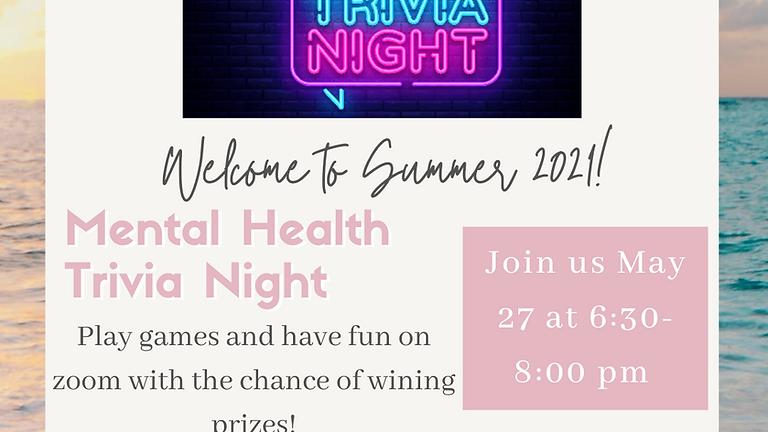 Mental Health Trivia Night