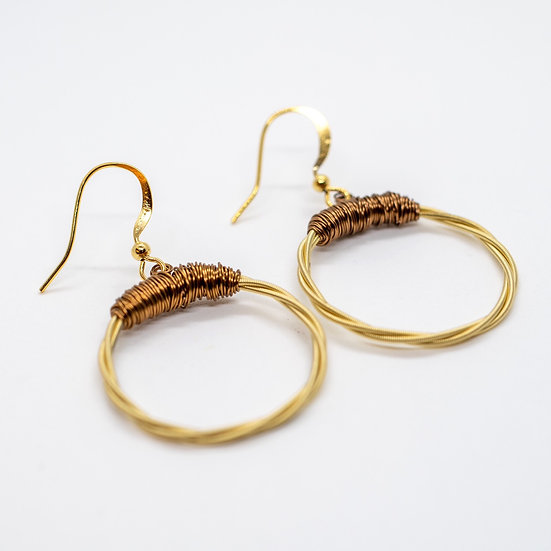 D-String Guitar Earrings (GR009)