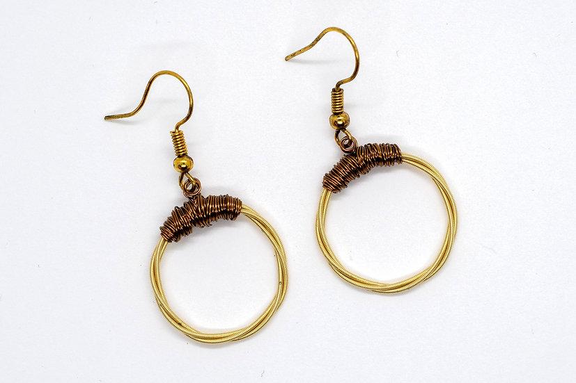D-String Guitar Earrings (GR019)