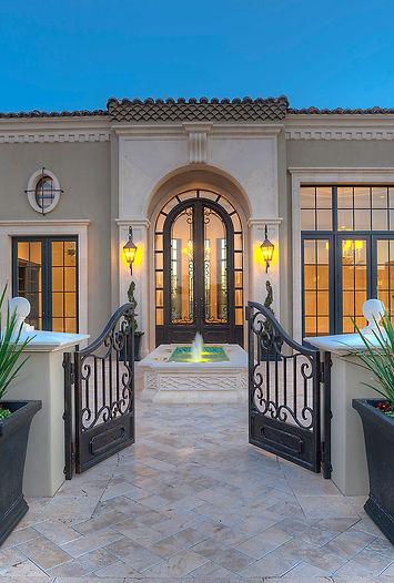 Phoenix AZ twilight real estate photo