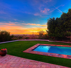 phoenix twilight residential photography
