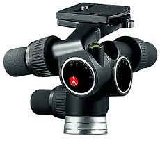 Photo of a geared tripod head