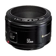 Photograph of a 50 mm prime lens