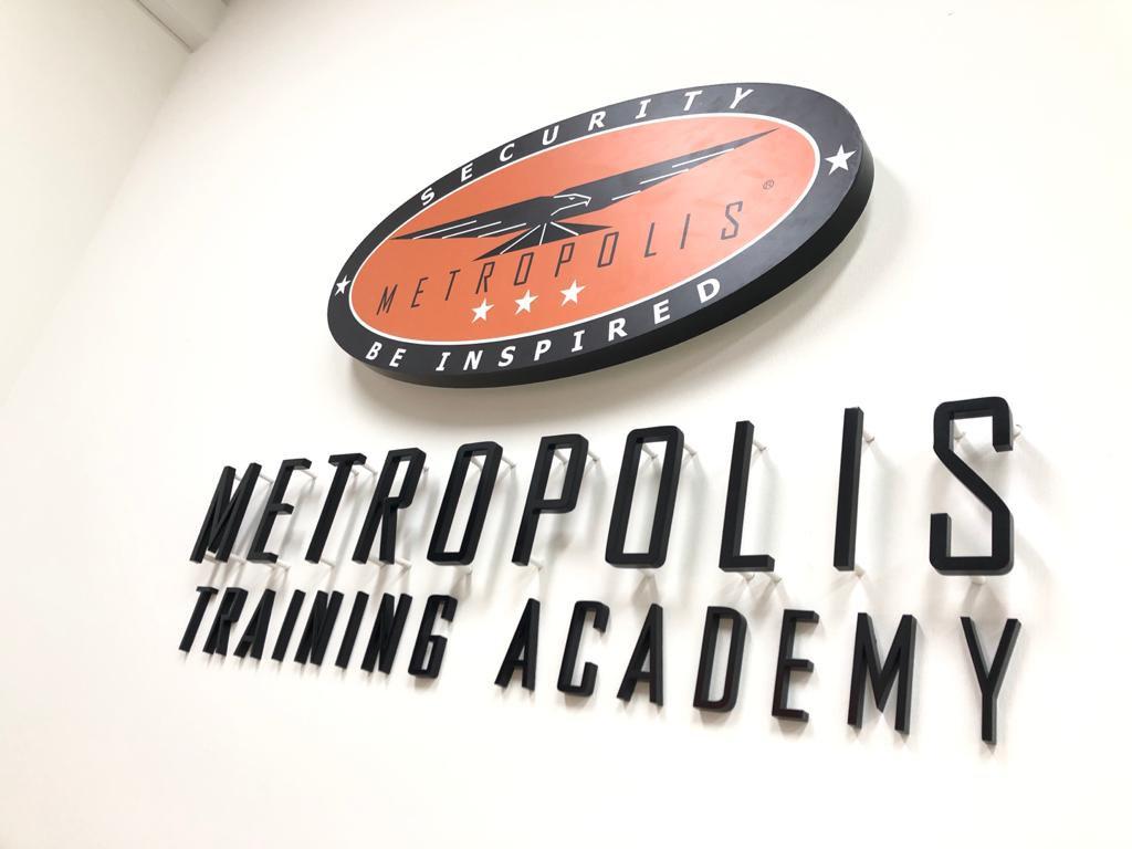 Metropolis Training Academy Signage