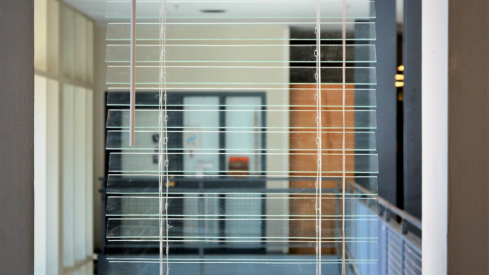 GLASS BLINDS