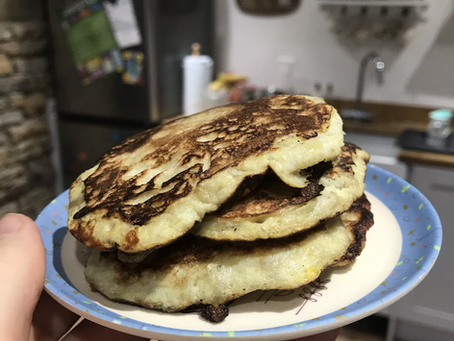 Two ingredient pancakes for little ones