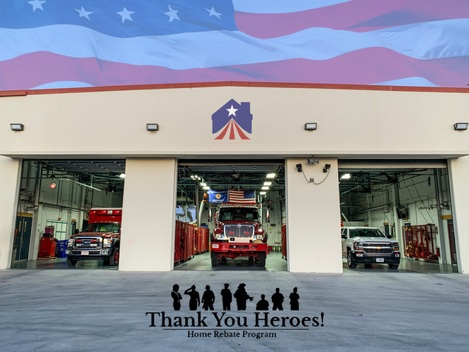 Thank You Heroes Home Rebate Program