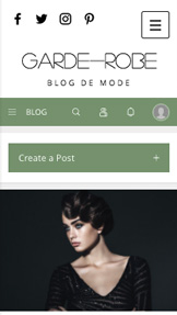 Mode et Beauté website templates – Blog Mode