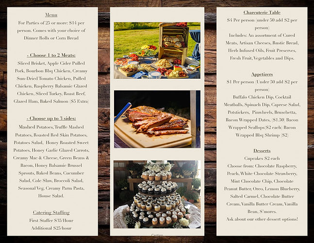 The Catering Company Brochure 2021 Updat