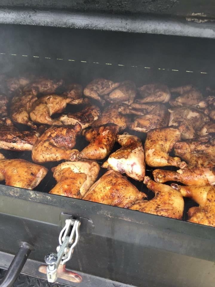 Grilling BBQ Chicken .JPG