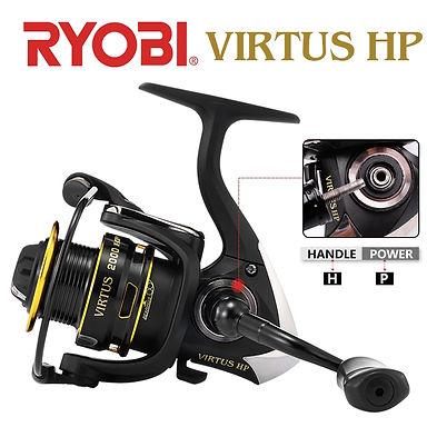 RYOBI VIRTUS HP Spinning Fishing Reels2000/3000/4000/6000/8000