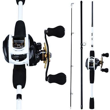 Sougayilang fishing rod (1.8m) + reel (12 +1BB, 7.2:1, 280g, 14lb)