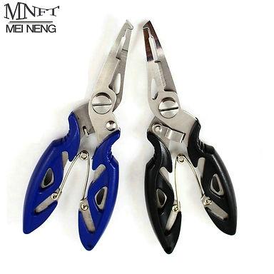 MNFT Fishing Plier Scissor Braid Line Lure Cutter Hook Remover Etc.