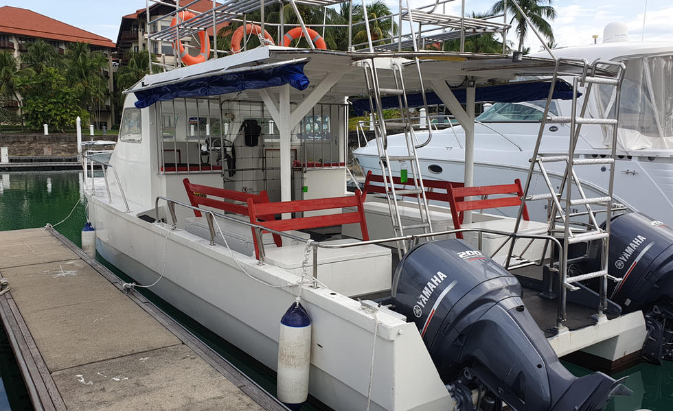 Popeye fishing boat