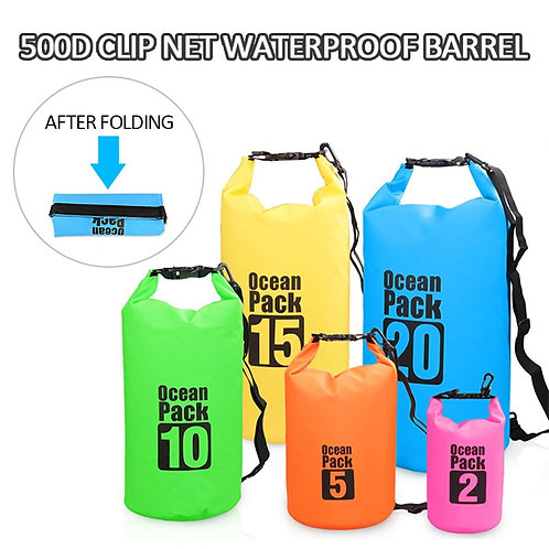 water proof dry bag for water adventure